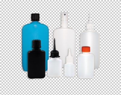 Oval bottles up to 250 ml