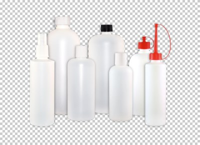 Round bottles in 150 ml